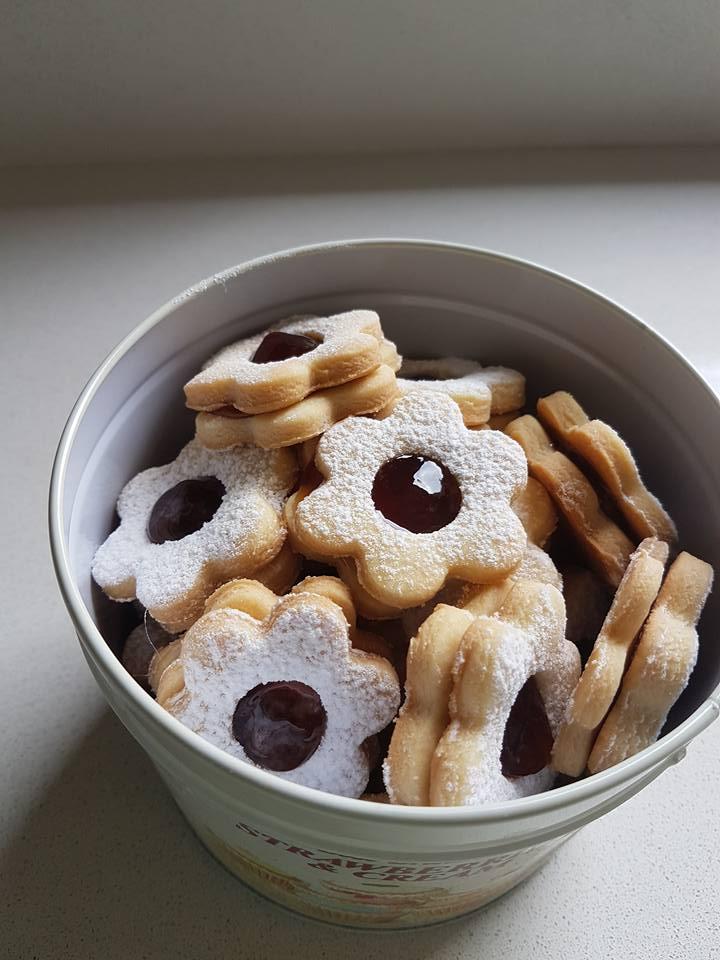 עוגיות ריבה נוסטלגיות
