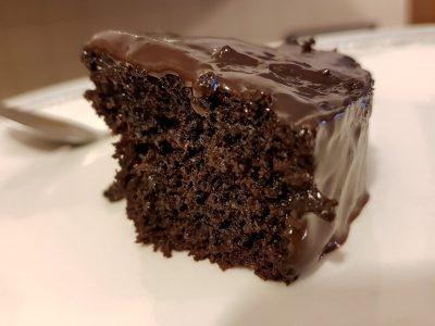 עוגת שוקולד אמיתית ומטריפה