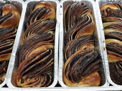 עוגת שמרים קלה ללא התפחה