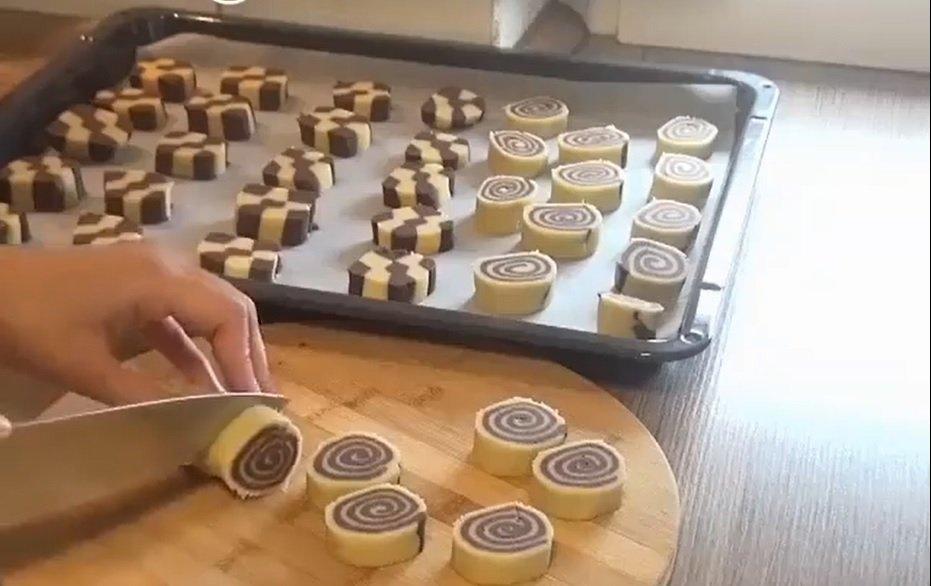 עוגיות שחור לבן טורקיות