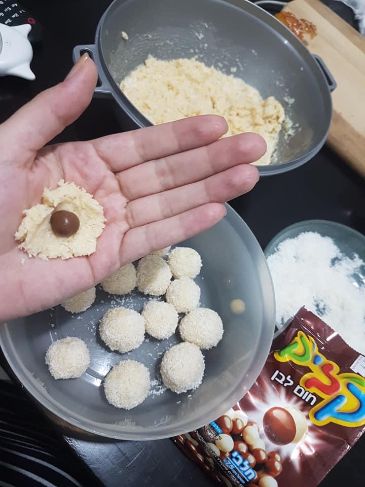 כדורי רפאלו ב 4 מרכיבים