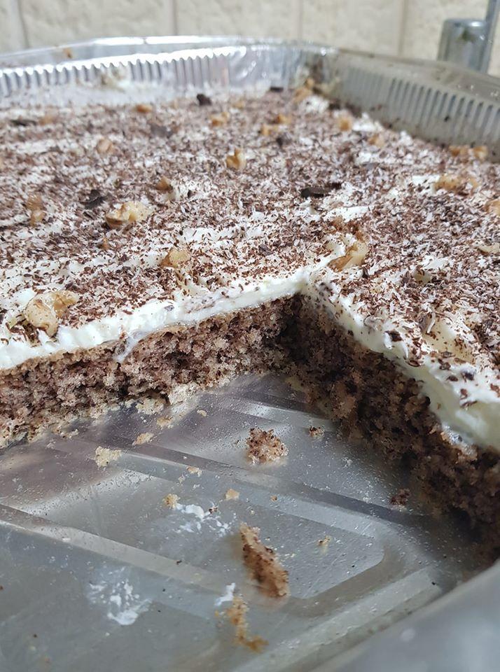 עוגת שוקולד אגוזים וקוקוס לפסח