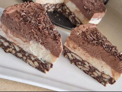עוגת שכבות מושקעת