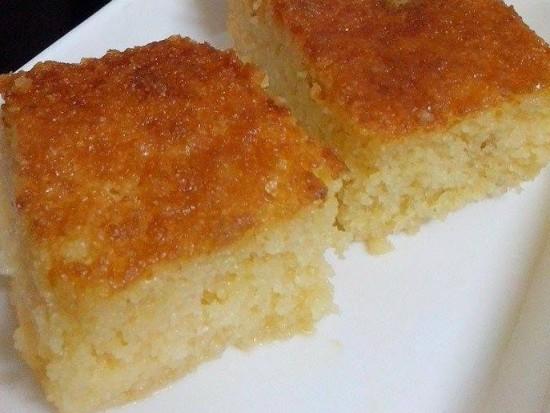 עוגת סולת ותפוזים עסיסית
