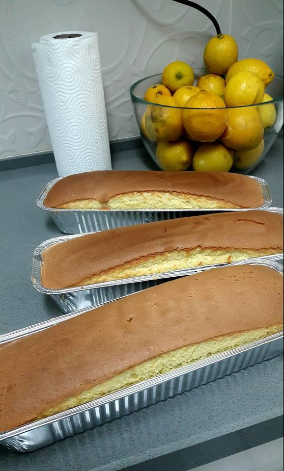 עוגת תפוזים ספוג