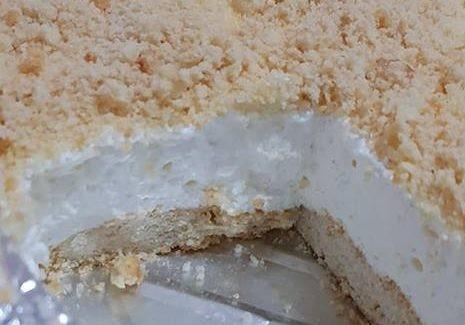 עוגת שמנת פירורים מושלמת
