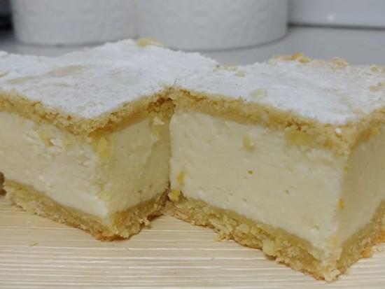 עוגת גבינה קרה שכבות