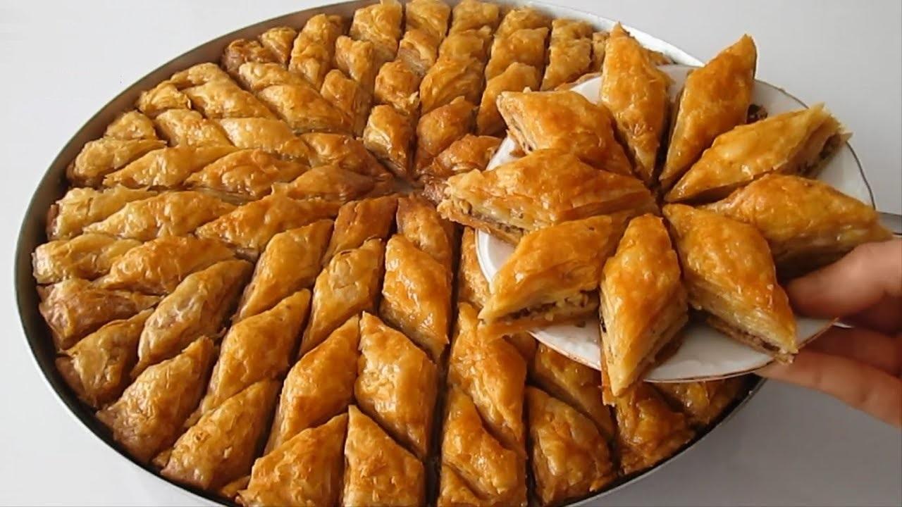 בקלאווה טורקית yesilsalata