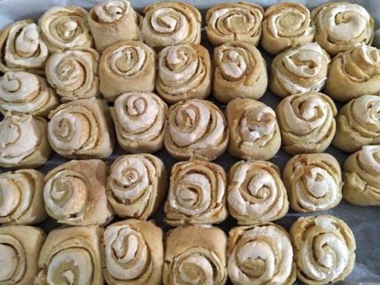 עוגיות שושנים של אמא