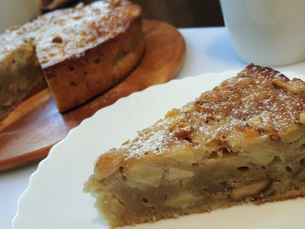 עוגת תפוחים קלה ומנצחת