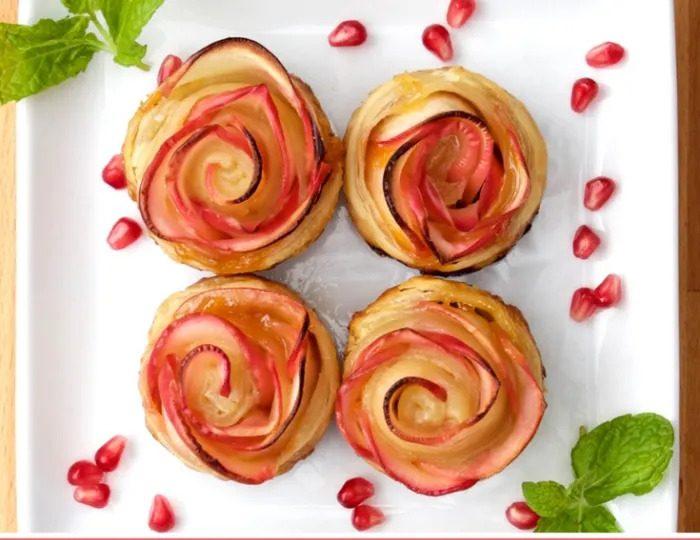 שושני תפוחים לראש השנה יפייפיים וטעימים