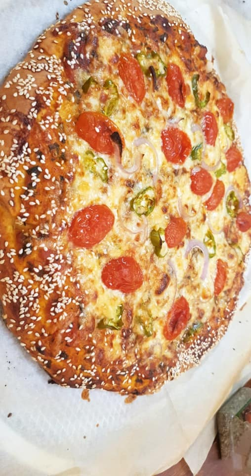 בצק פיצה ב-10 דקות