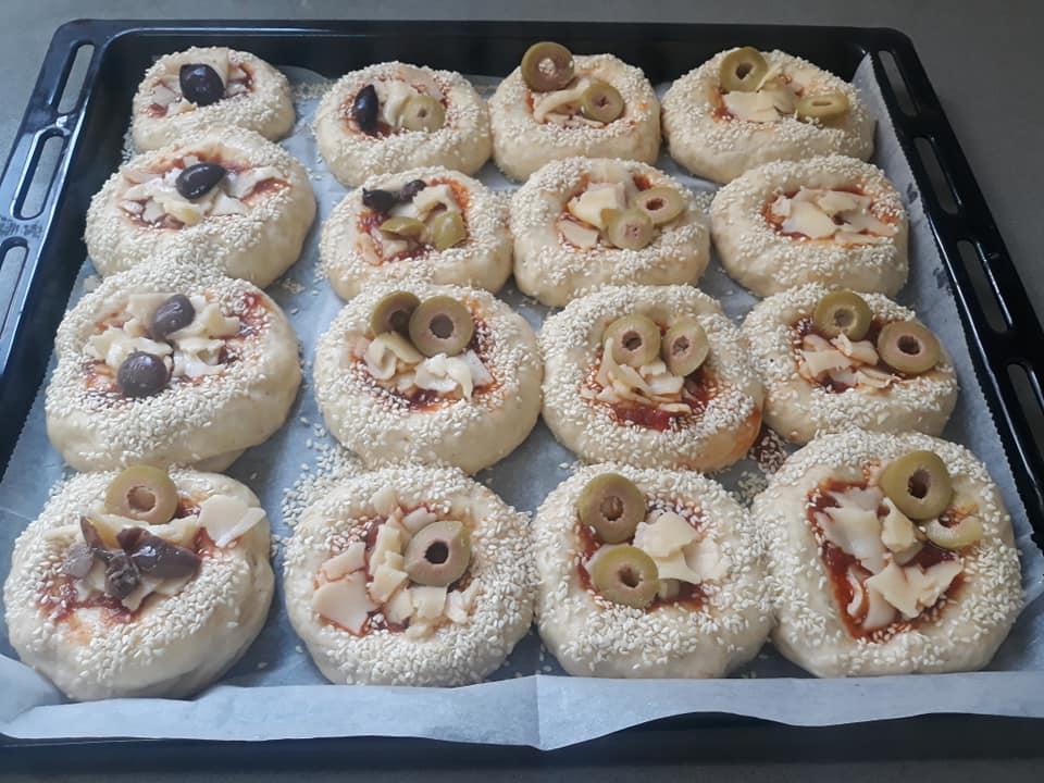 לחמניות פיצה ליאלה אלדבח
