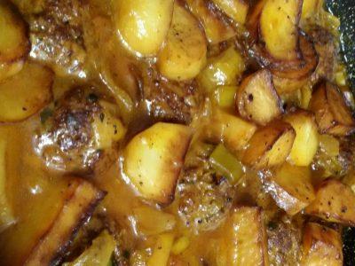 סופריטו קציצות עם תפוחי אדמה