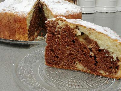 עוגת שיש פרווה רכה בטירוף - מתכונים מתוקים