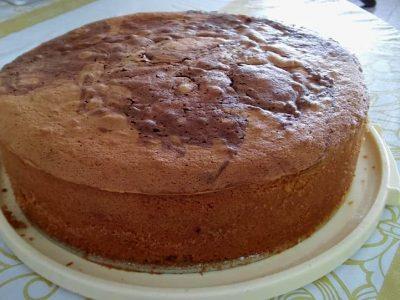 עוגת שיש עם קקאו