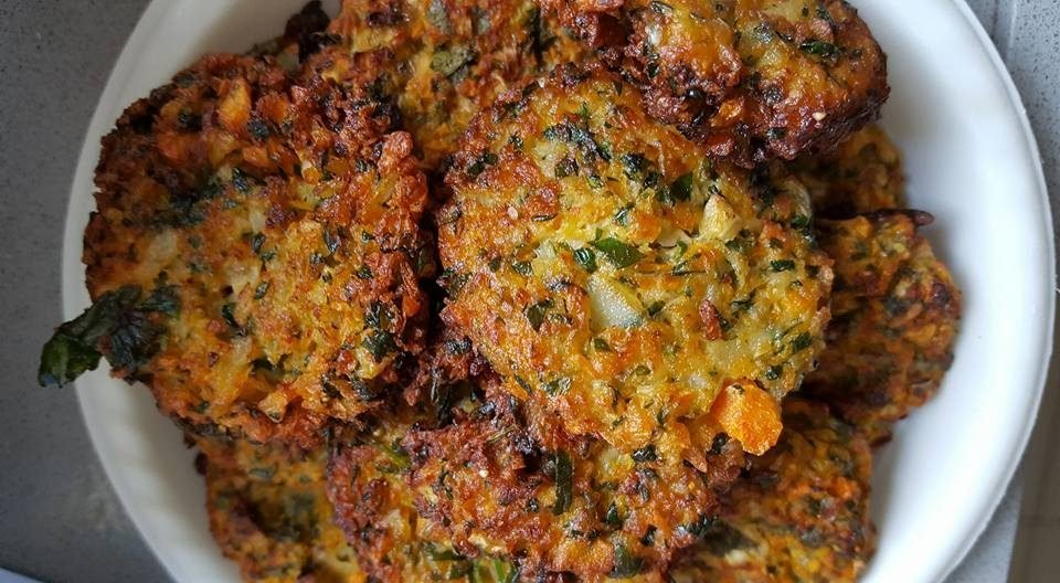 קציצות ירק בתנור