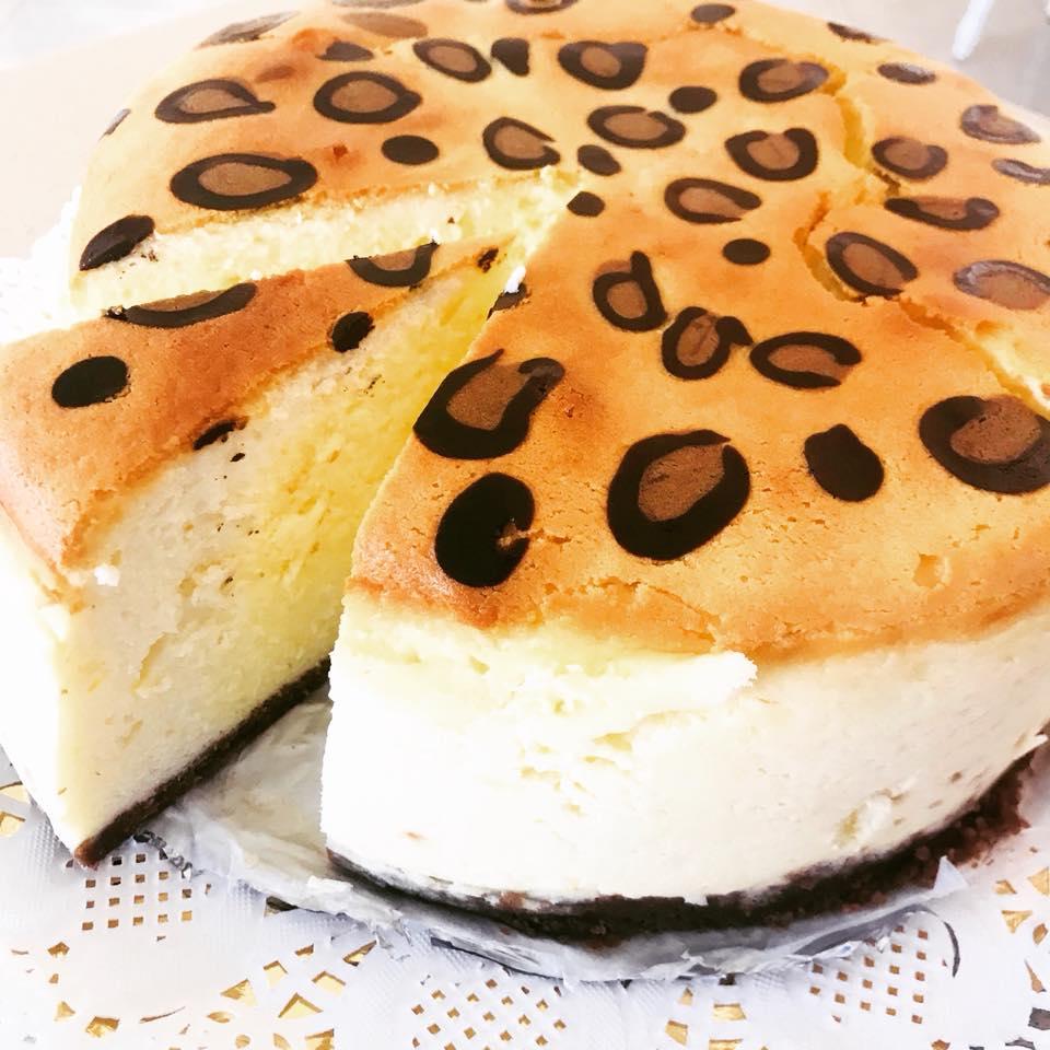 עוגת גבינה מנומרת - דליה סיני