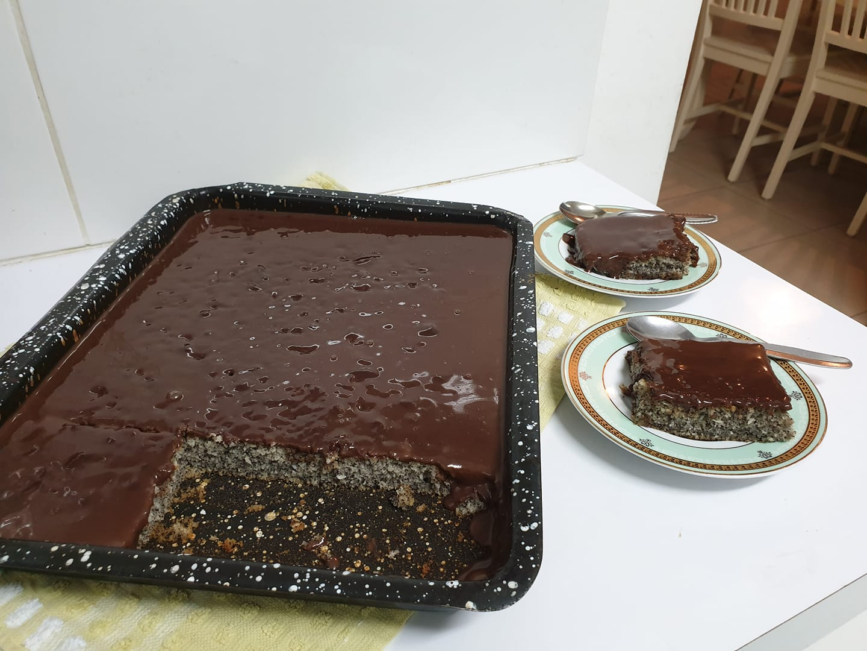 עוגת פרג ב-5 דקות 2 רונית צדוק