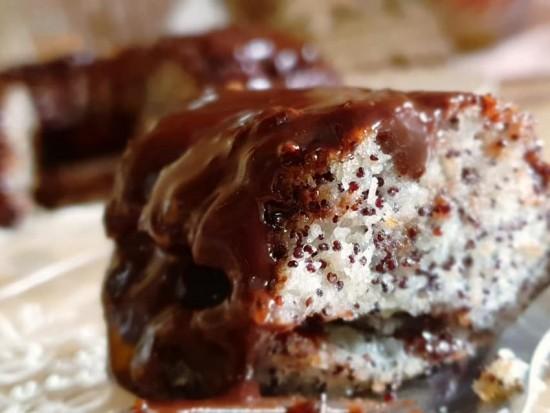 עוגת פרג ב-5 דקות