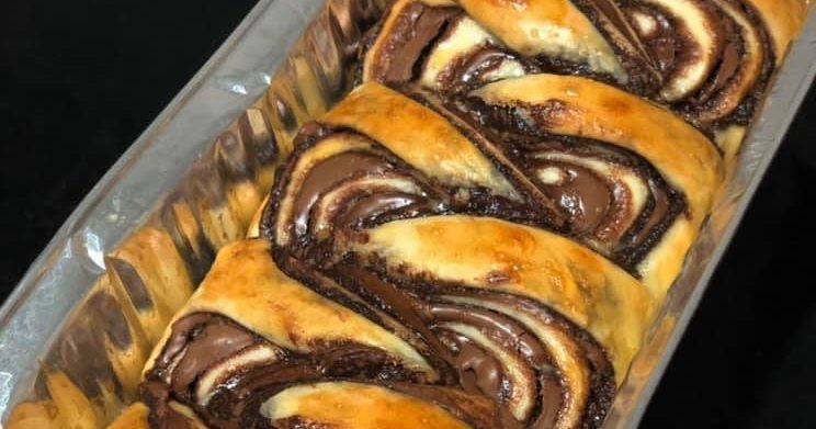 עוגת שמרים שוקולד נוטלה