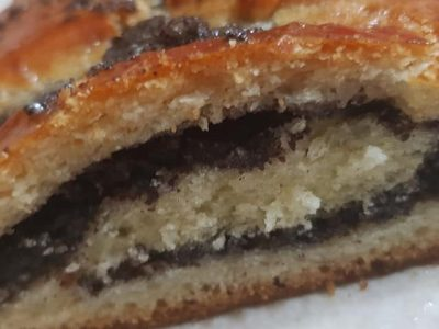 עוגת שמרים פרג טעימה LC