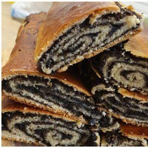 עוגת שמרים פרג פרסבורגר