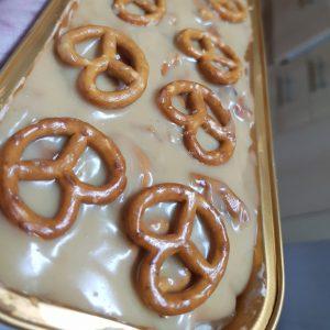 עוגת בייגלה קרמל מלוח
