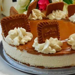 עוגת לוטוס ללא אפייה