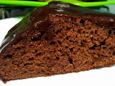 עוגת שוקולד בחושה עם נוטלה