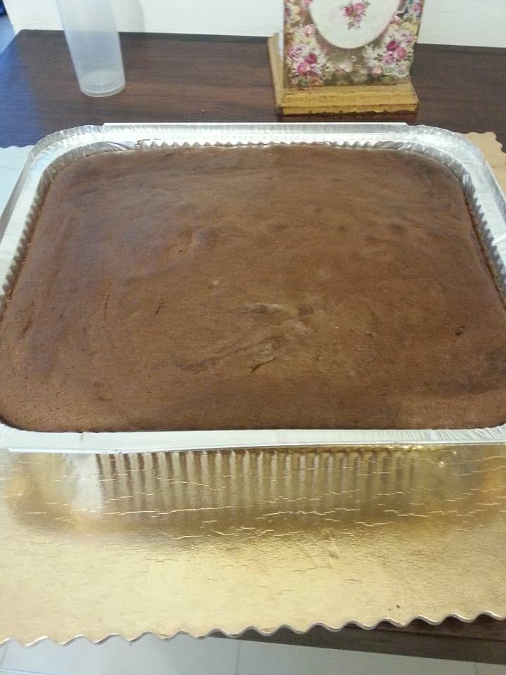 עוגת שוקולד גבוהה