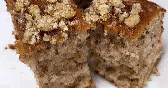 עוגת אגוזים ומייפל