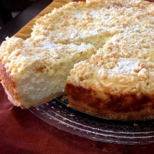 עוגת גבינה פירורים מדהימה