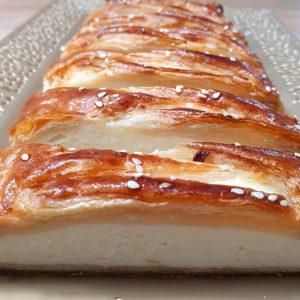 עוגת גבינה שמרים קלה