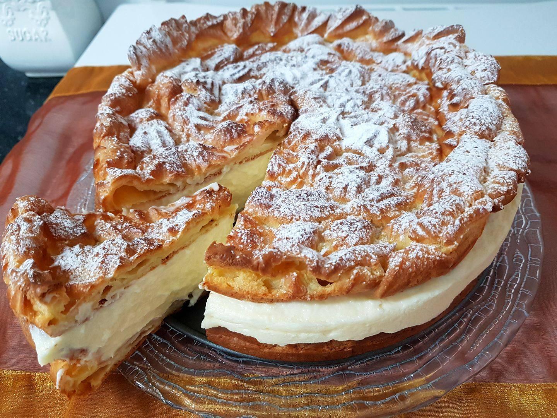 עוגת קרם חלב שכבות - מאיה פפיסמדוב