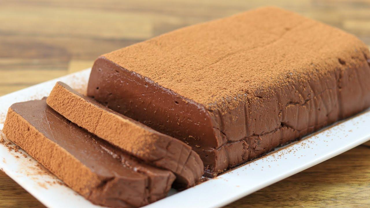 עוגת שוקולד ללא אפיה