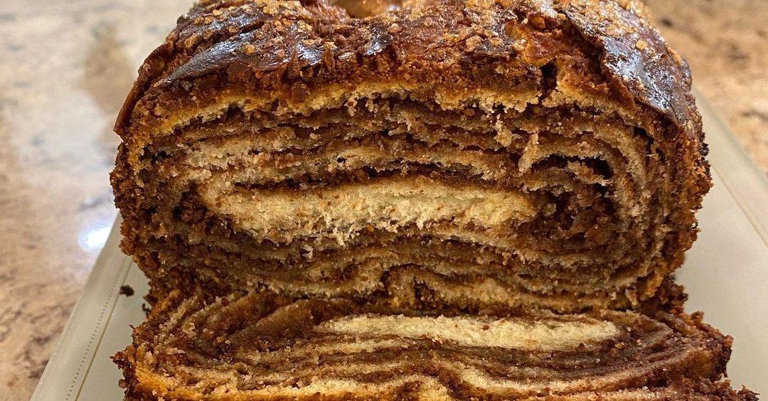 עוגת שמרים שוקולד קיפולים (2)