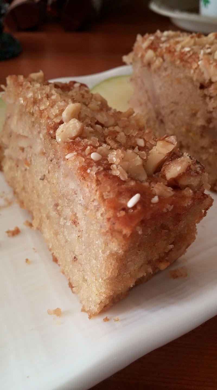 עוגת תפוחים ללא מיקסר - ישראלה אזולאי 3
