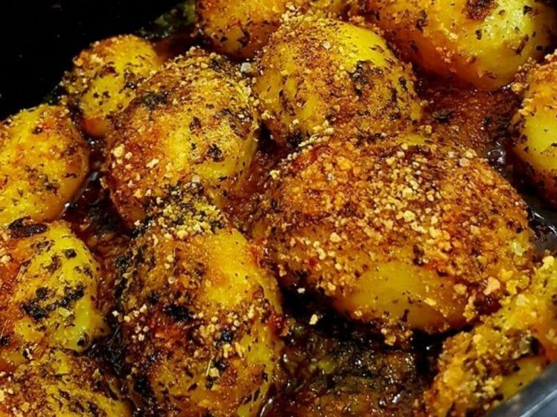 תפוחי אדמה בתנור פריכים