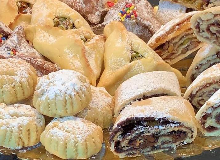 עוגיות פורים בצק פריך