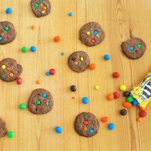 עוגיות שוקולד עם עדשים