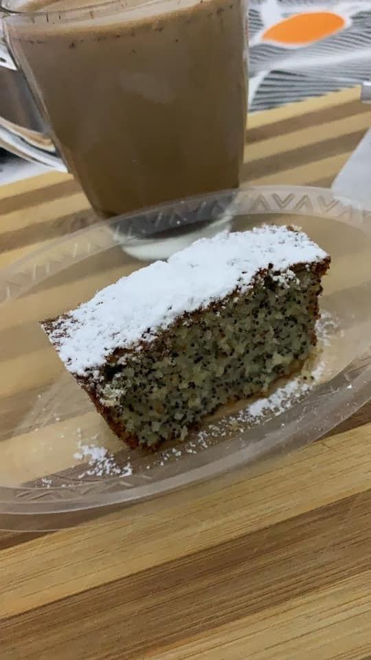 עוגת פרג בחושה