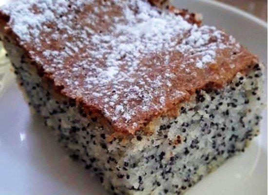 עוגת פרג בחושה וקלה סימה הרוש-ראשית