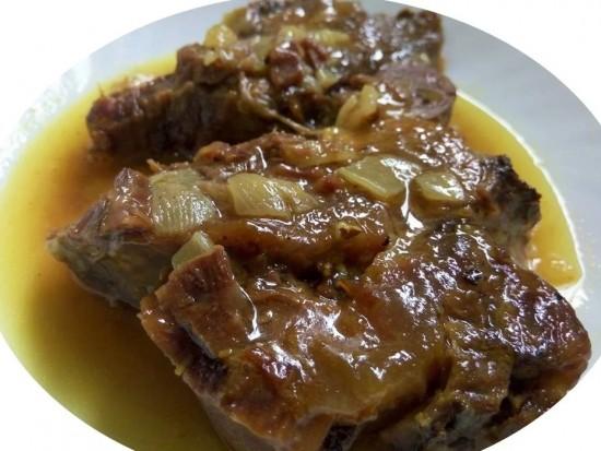 מתכון לצלי בשר ברוטב