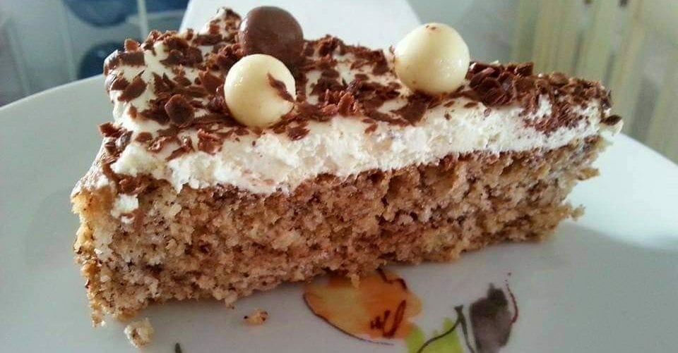 עוגת אגוזים ושוקולד לפסח