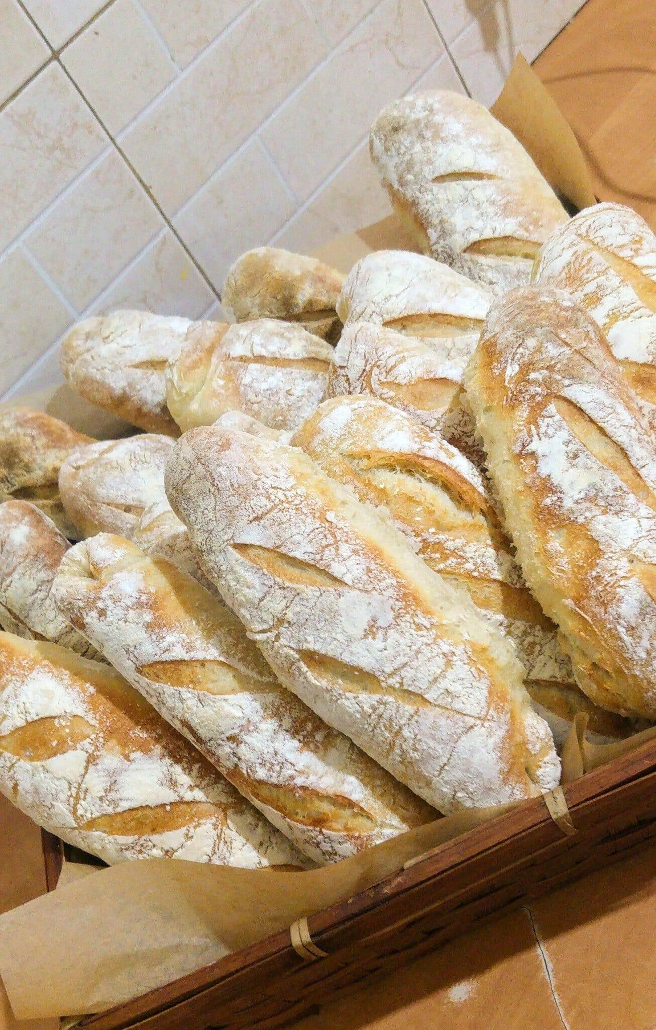 לחם ללא לישה