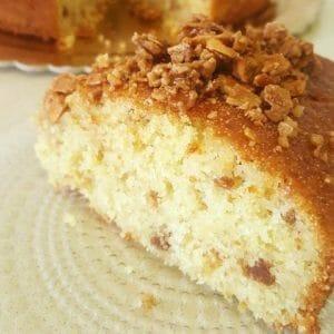 עוגת סולת לוטוס