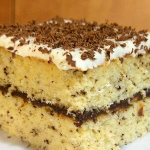 עוגת ספוג תפוזים ושוקולד