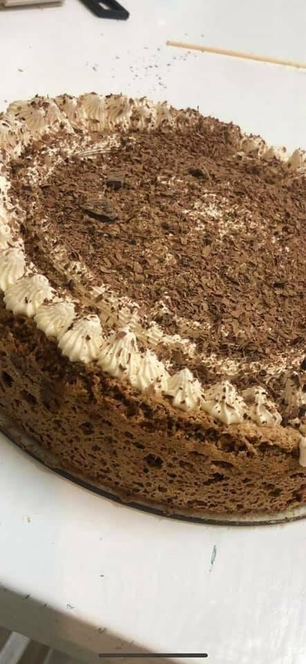 עוגת קפה שוקולד