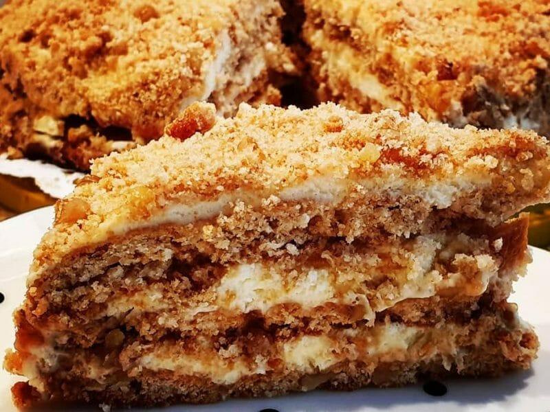 קרלבסקי - עוגת שכבות
